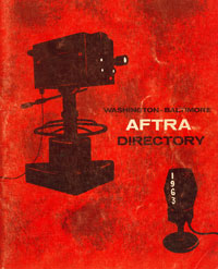 1963 AFTRA booklet cover