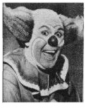photo of Willard as Bozo