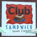 Club Sandwich sign