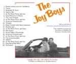 Joy Boys Volume Two back cover