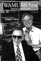 cover of WAMU newsletter with Ed Walker and Dick Spottswood