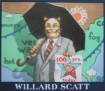 weather cat, Willard Scatt